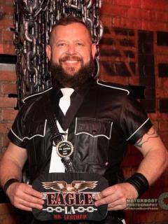 Congrats to Colton Stenke Eagle LA Mr Leather 2020!!